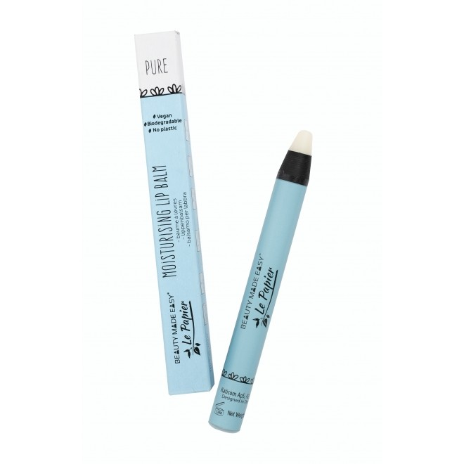 Balsam hidratant de buze, Pure, zero plastic, Beauty Made Easy, 6 g