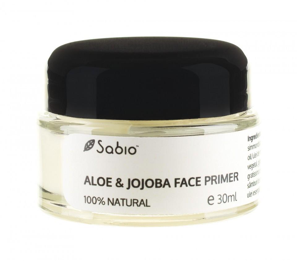 Bază de machiaj cu Aloe și Jojoba Sabio