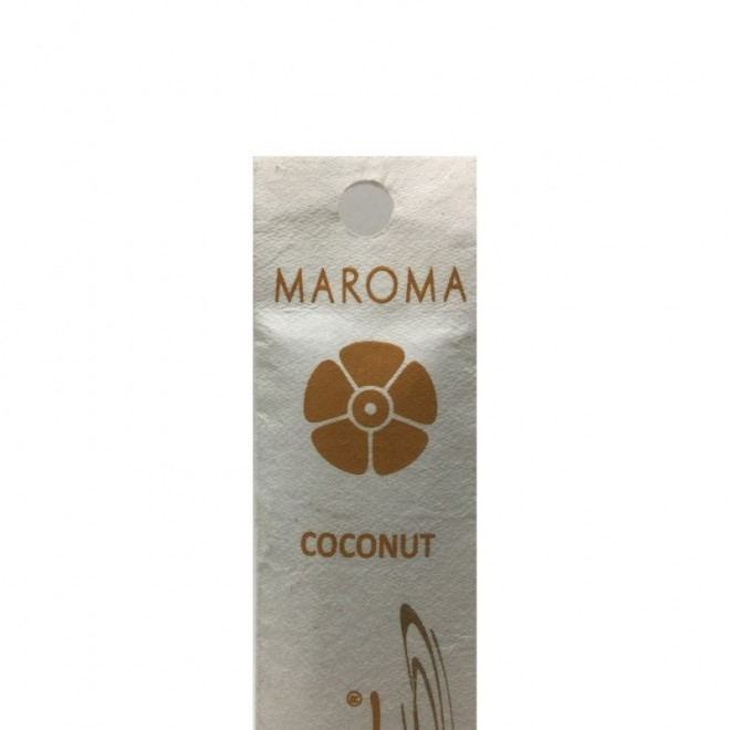 Betisoare parfumate Coconut, Maroma, 10 buc