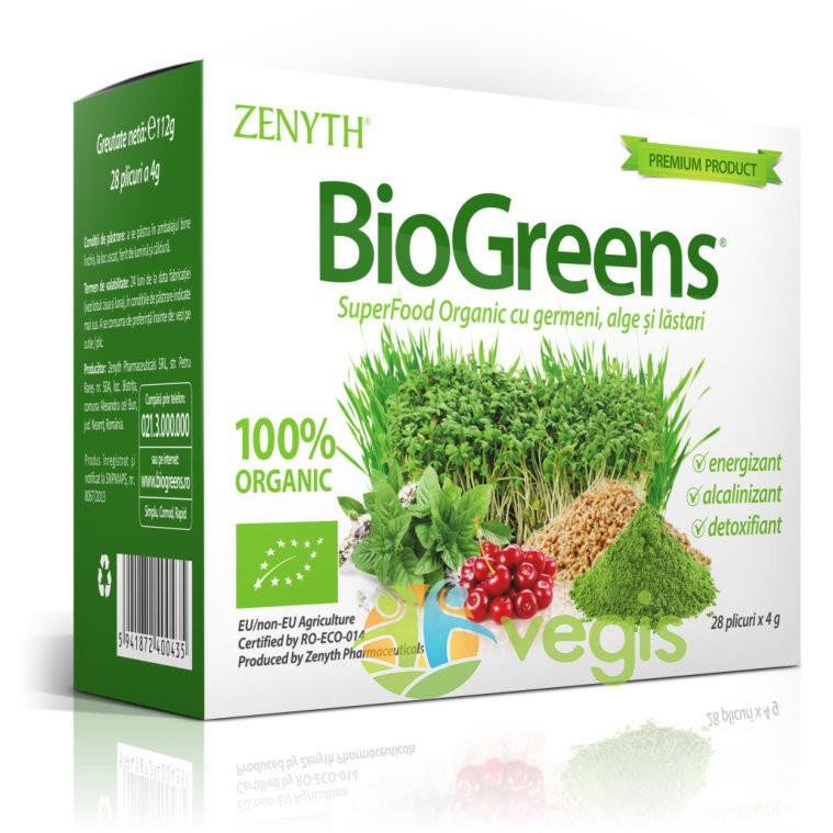 BioGreens Ecologic/Bio 28plicuri
