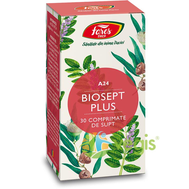 Biosept Plus (A24) 30cpr Masticabile