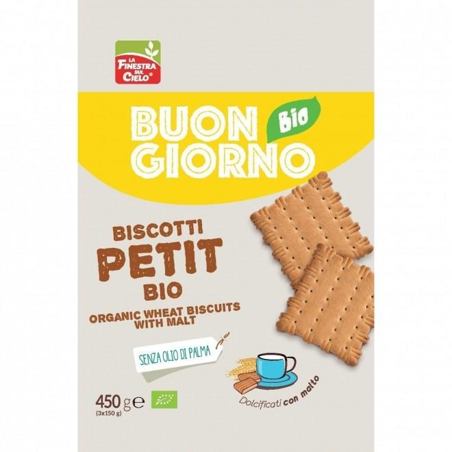 Biscuiti bio Petit din grau, 450 g