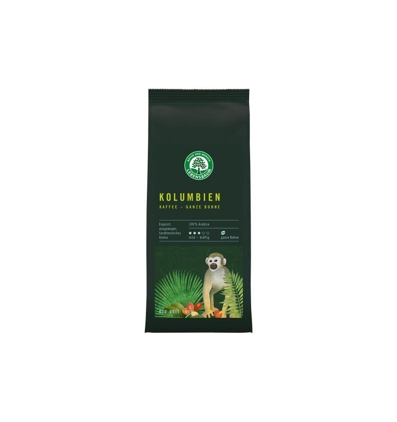 Cafea Bio Boabe Columbiana 100 % Arabica, 250 g Lebensbaum