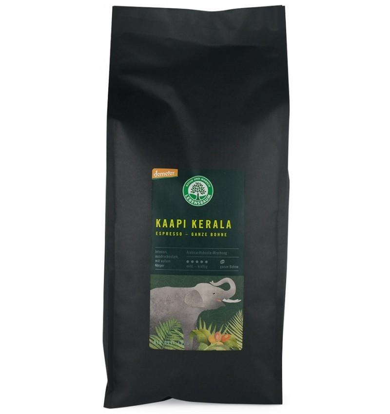 Cafea Bio Boabe Expresso Kaapi Kerala Lebensbaum - 1000 g