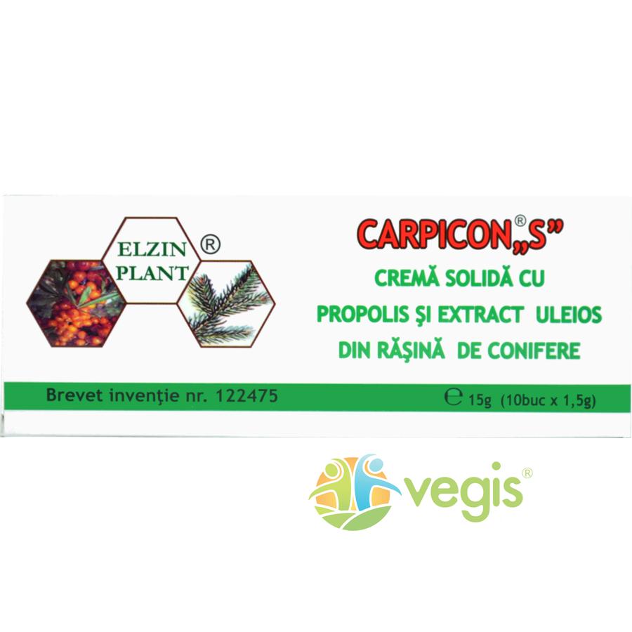 Carpicon S Supozitoare 1.5g*10blistere