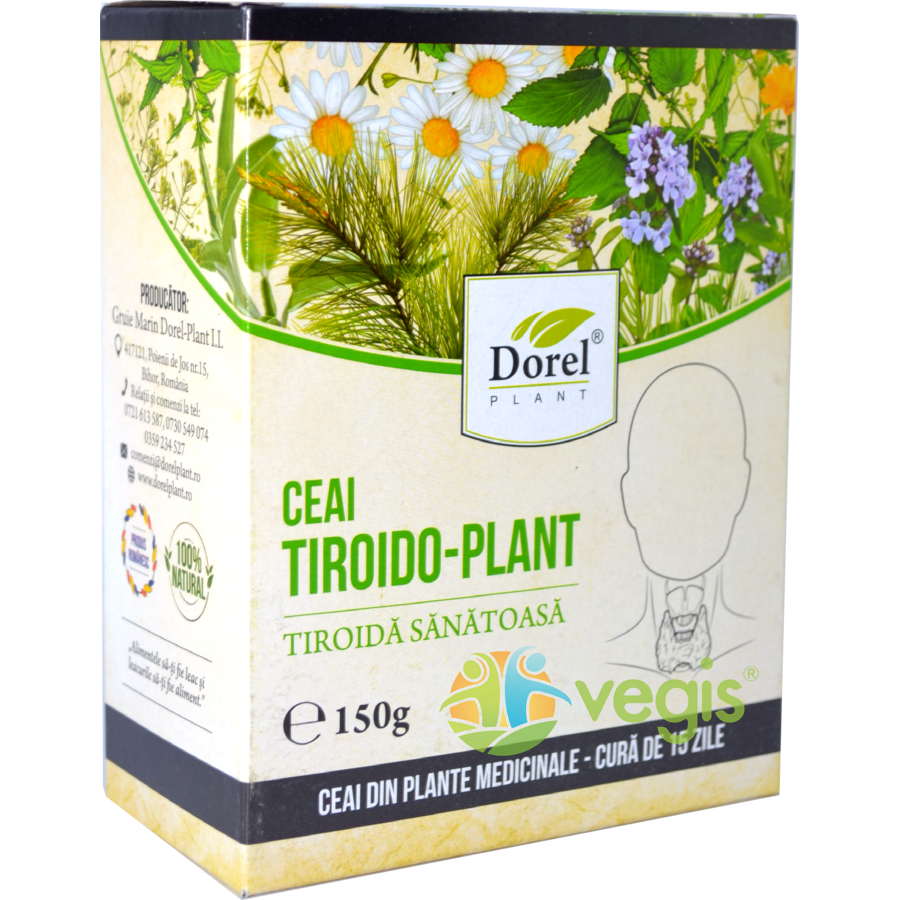 Ceai Tiroido Plant 150g