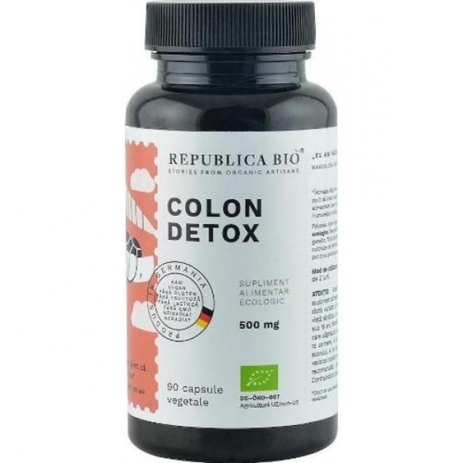 Colon Detox, Republica Bio, 90 capsule