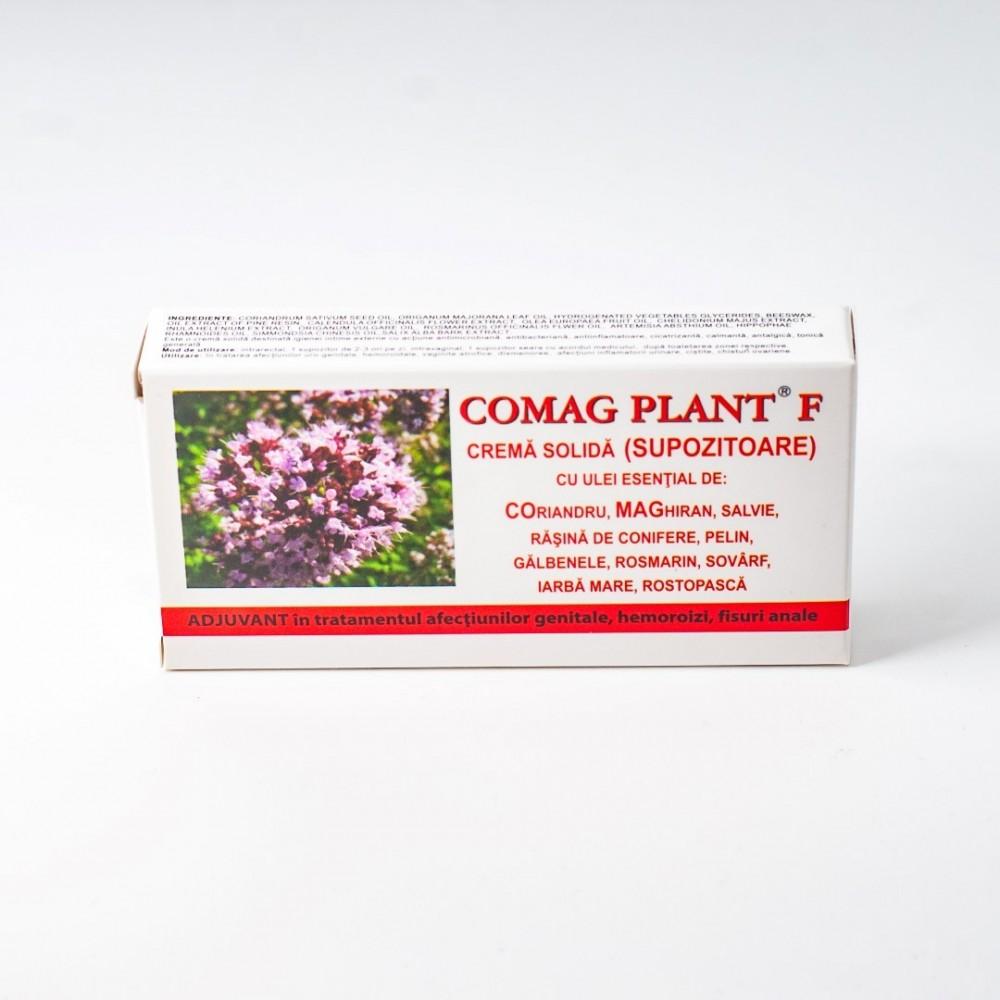 Comag Plant F, Supozitoare, 10x1.5 g