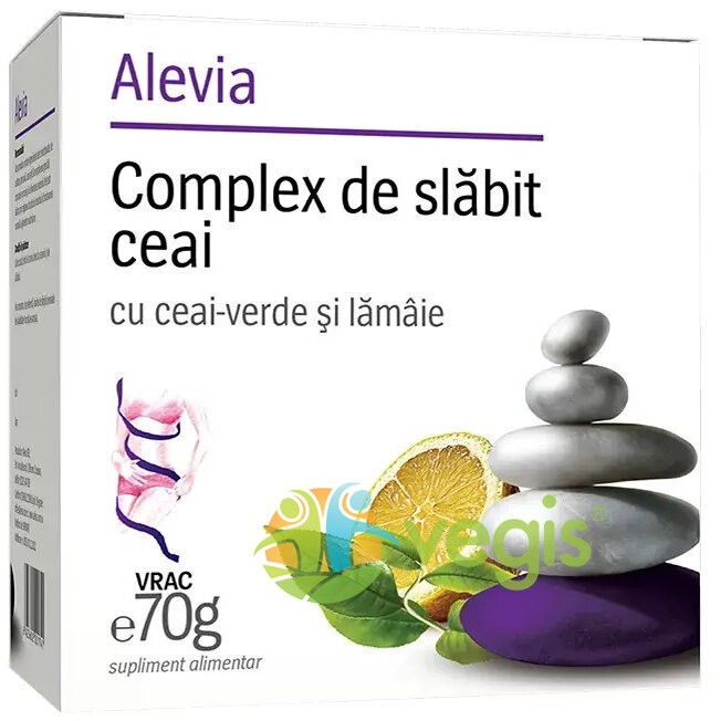 Complex De Slabit Ceai Cu Ceai  Verde Si Lamaie 70gr