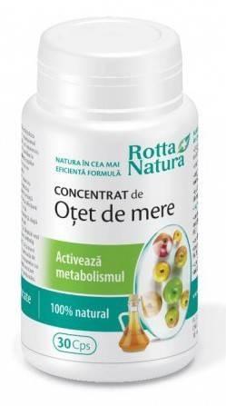 Concentrat de Otet de Mere, Metabolism Activ 30cps