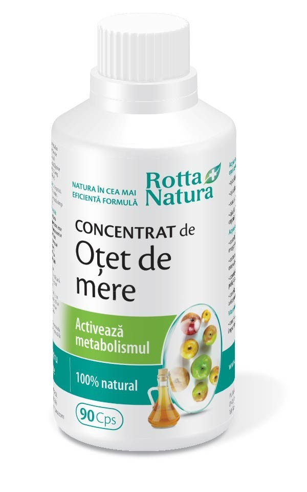Concentrat De Otet De Mere Metabolism Activ  - 90cps