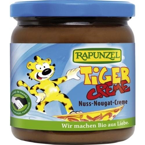Crema bio Rapunzel de nuca Nougat Tiger, 250 g