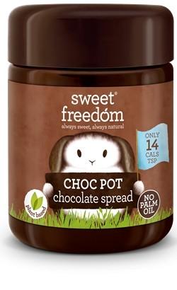 Crema de ciocolata Choc Pot, Sweet Freedom, 250 g