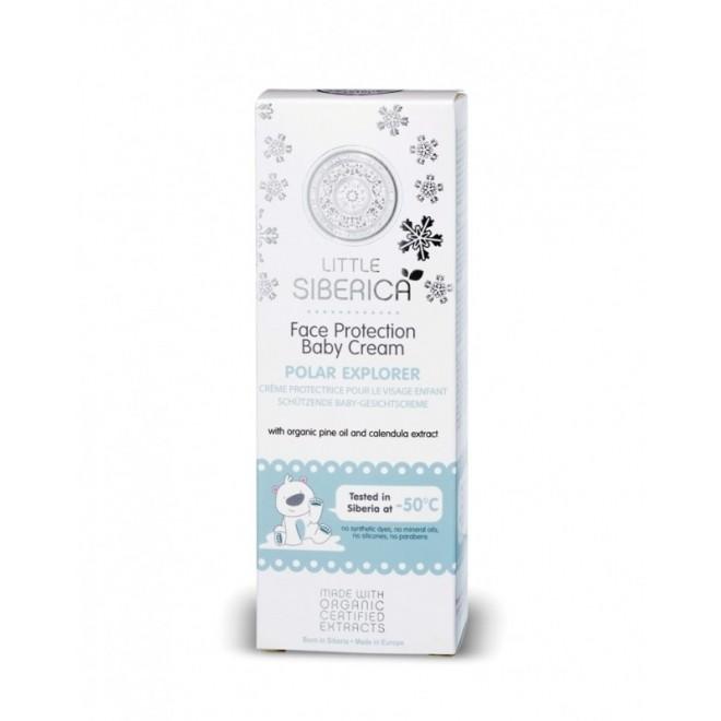 Crema fata bebe protectie impotriva frigului, Polar Explorer, Little Siberica, 75 ml