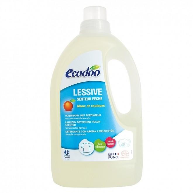 Detergent bio rufe, Ecodoo, cu aroma de piersici, 1,5 L
