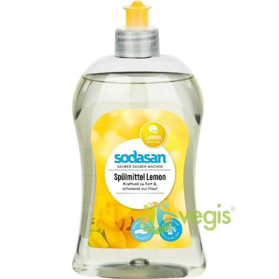 Detergent Lichid de Vase cu Lamaie Ecologic/Bio 500ml