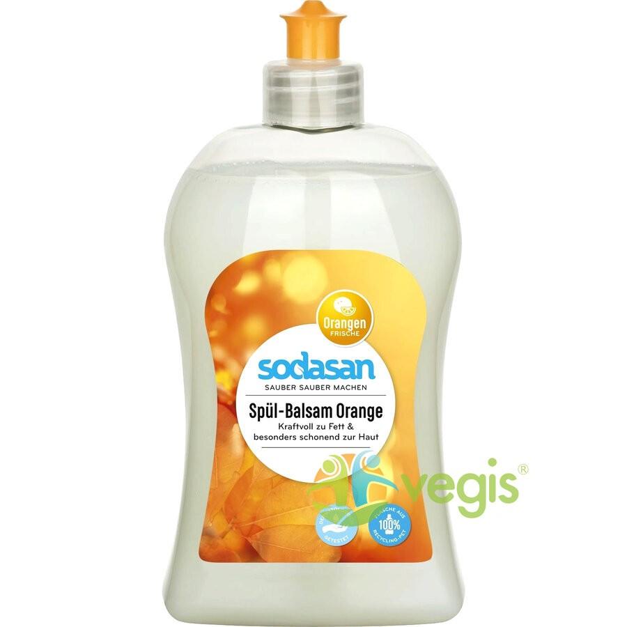 Detergent Lichid de Vase cu Portocala Ecologic/Bio 500ml