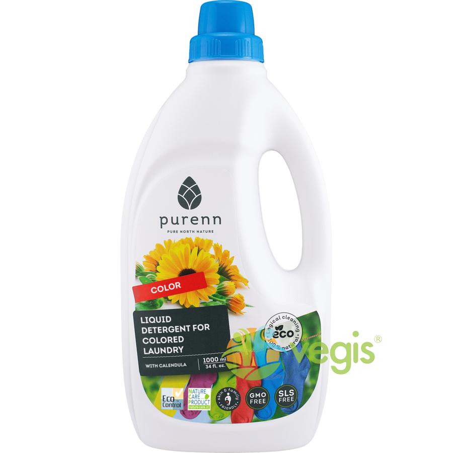 Detergent Lichid pentru Rufe Colorate cu Galbenele ECO/BIO 1L