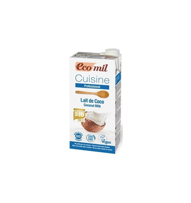 Ecomil Cuisine – Crema vegetala BIO pentru gatit pe baza de cocos, 1000ml