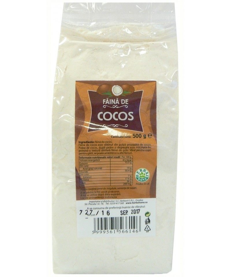 Faina de Cocos, 500g Herbavit