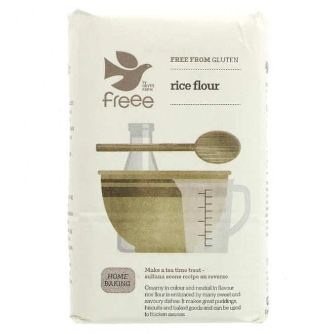 Faina de orez fara gluten Doves Farm 1kg