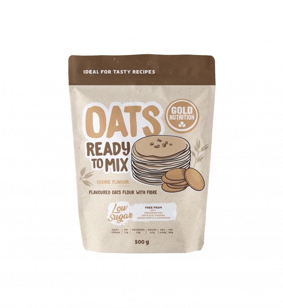 Faina de Ovaz, Oats Ready to Mix Cookie, 500g Gold Nutrition