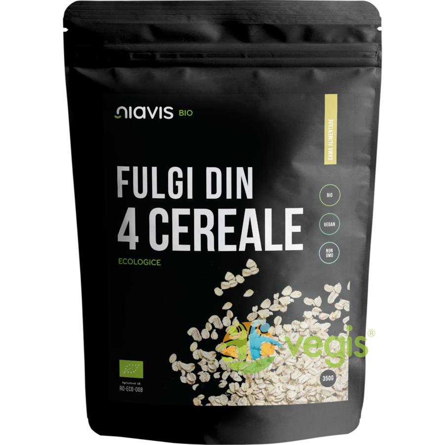 Fulgi din 4 Cereale Ecologici/Bio 350g