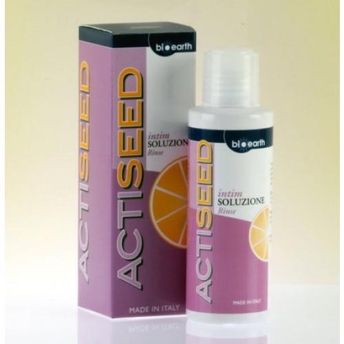 Gel intim Bioearth Actiseed cu extract de grapefruit, 200 ml