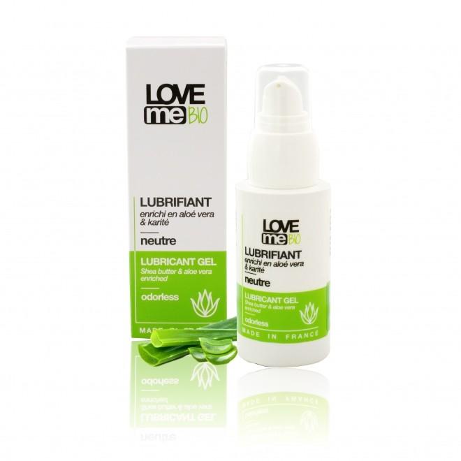 Gel lubrifiant intim, Love Me Bio, fara miros, 50 ml