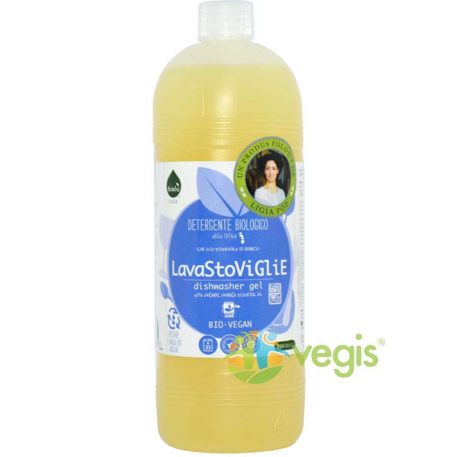 Gel pentru Masina de Spalat Vase Ecologic/Bio 1l