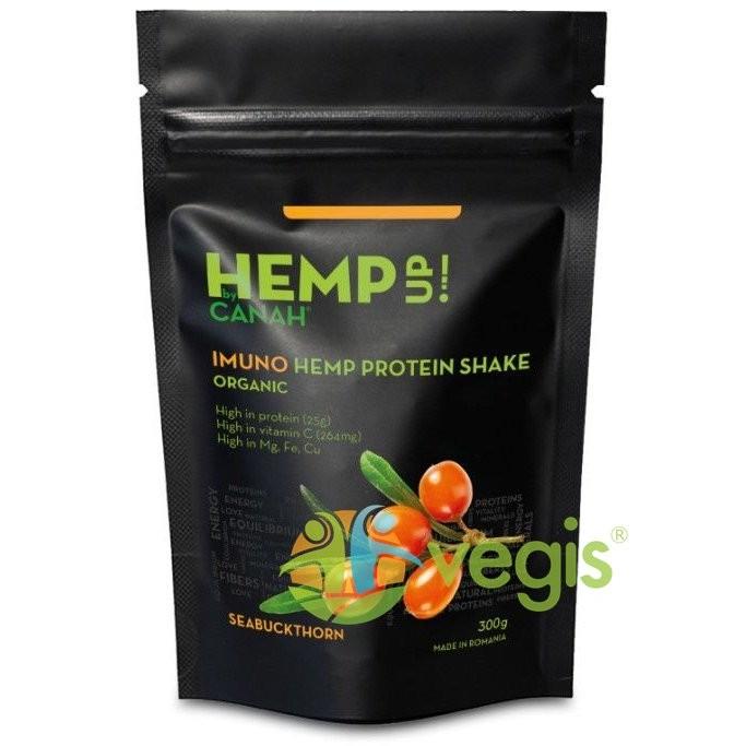 IMUNO Shake Proteic de Canepa si Catina Hemp Up Ecologic/Bio 300g