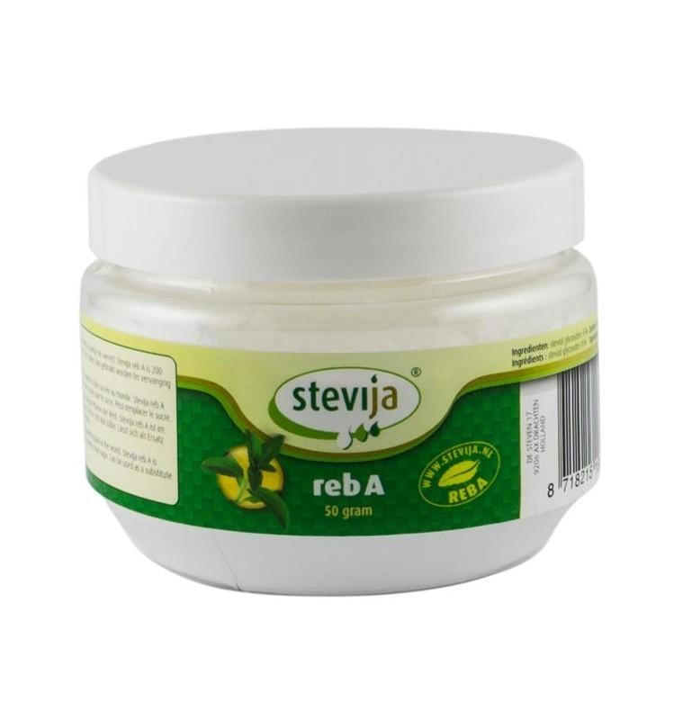 Indulcitor Pudra din Stevie foarte concentrat SteviJa - 50 g
