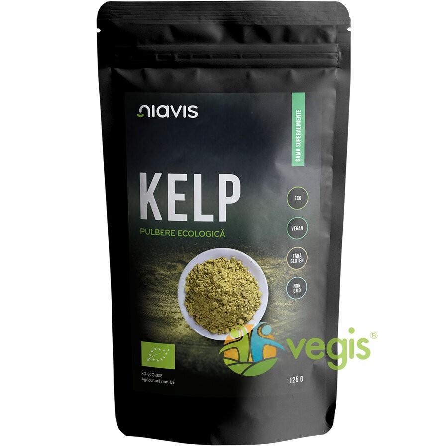 Kelp (Varec) Pulbere Ecologica/Bio 125g