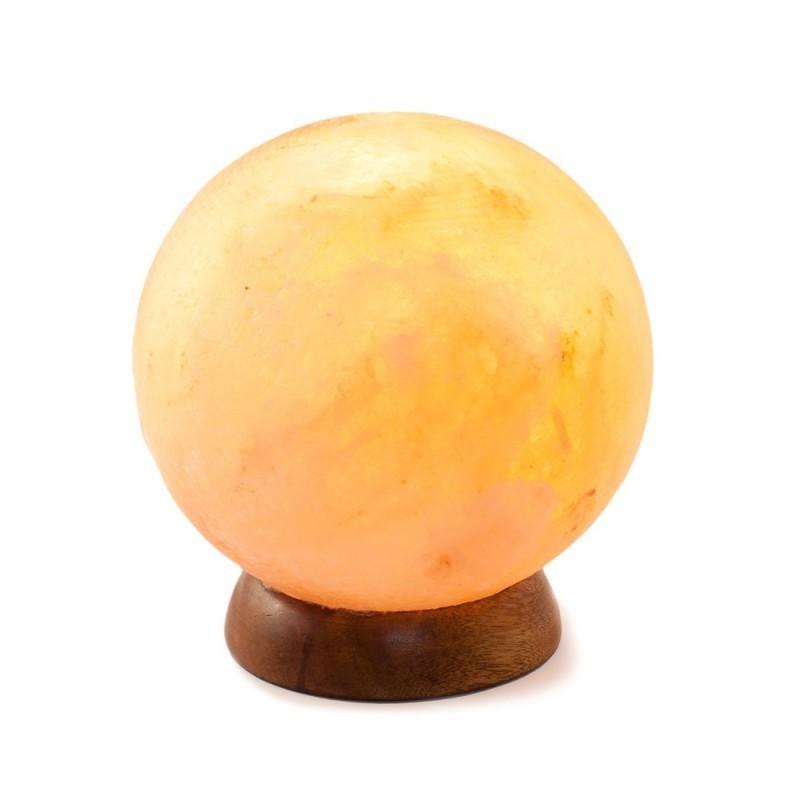 Lampa de Sare, forma Glob Feng Shui, 4-5 kg