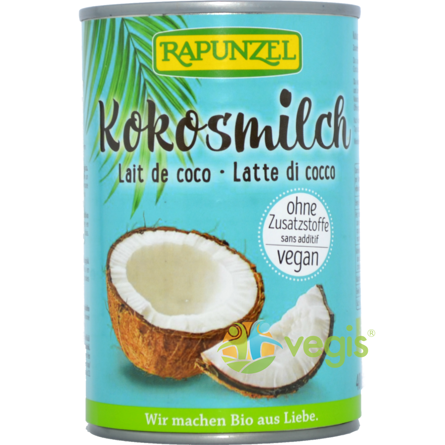 Lapte De Cocos Ecologic/Bio 400ml