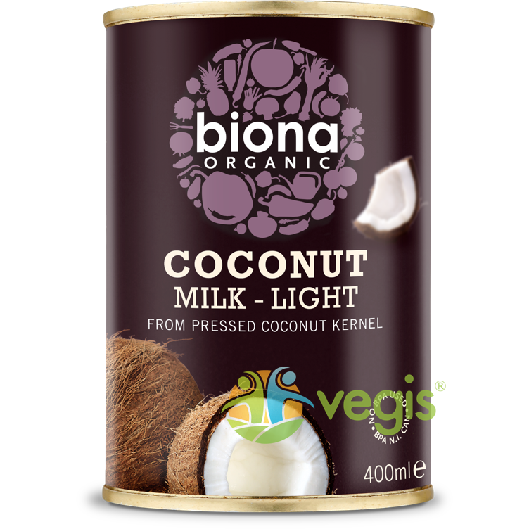 Lapte de Cocos Light Ecologic/BIO 400ml