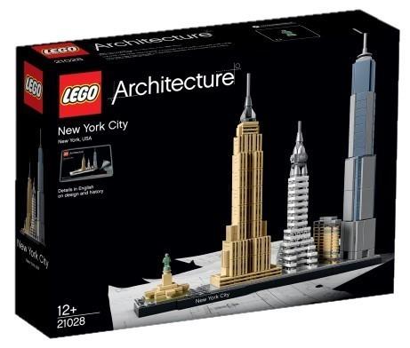 LEGO ARCHITECTURE, New York, 21028, 12+