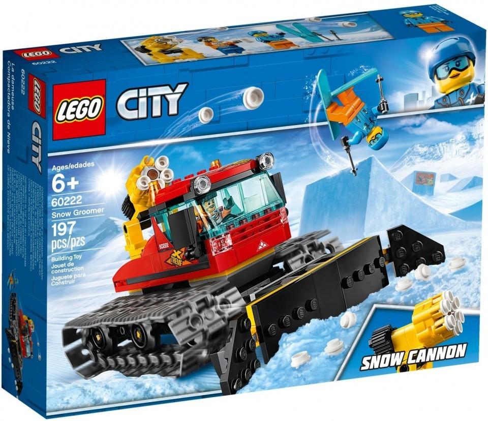 LEGO City, Great Vehicles - Compactor de zapada, 60222, 6+