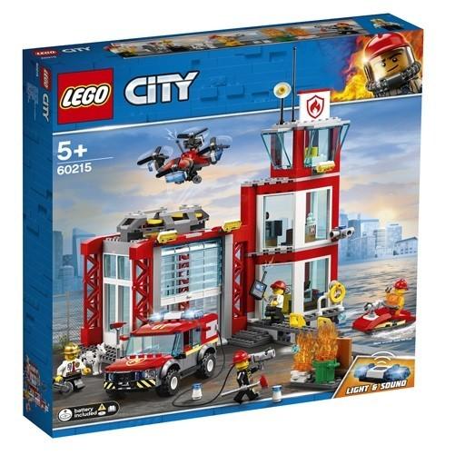 LEGO City, Statie de pompieri, 60215, 5+ ani