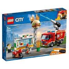 LEGO City, Stingerea incendiului de la Burger Bar 60214, 5+ ani