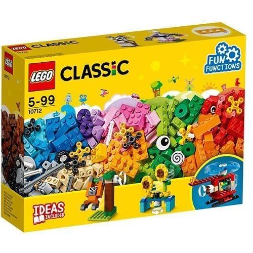 LEGO CLASSIC, Caramizi si roti variate, 10712, 5-99 ani
