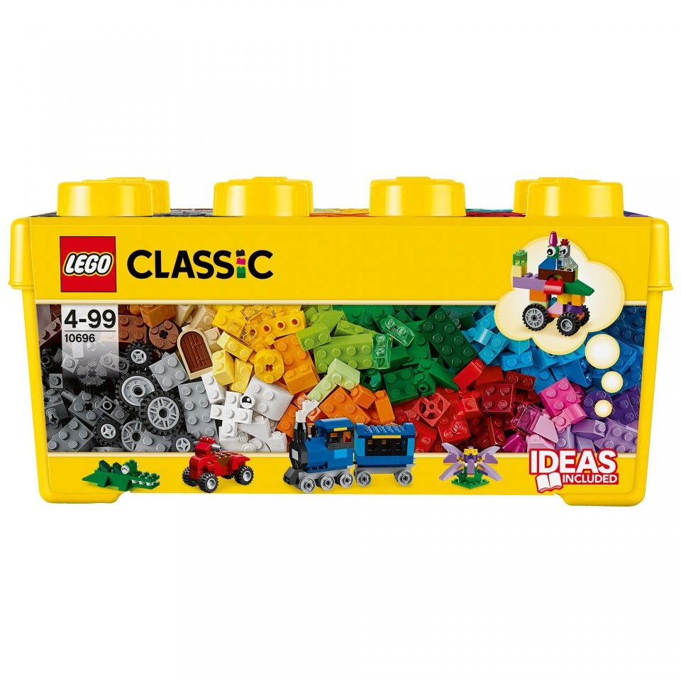 LEGO CLASSIC, cutie medie de constructie creativa, 10696, 4-99 ani