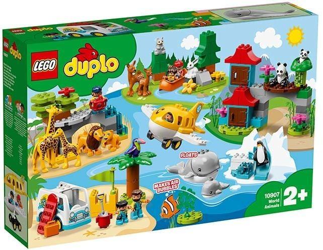 LEGO DUPLO Town, Animalele lumii, 10907, 2+