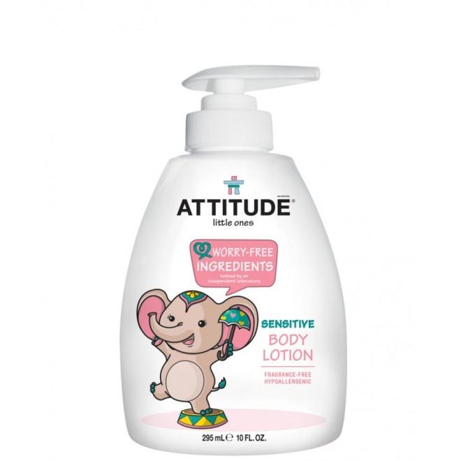 Lotiune de corp, Attitude, fara miros, pt. bebelusi, 300 ml