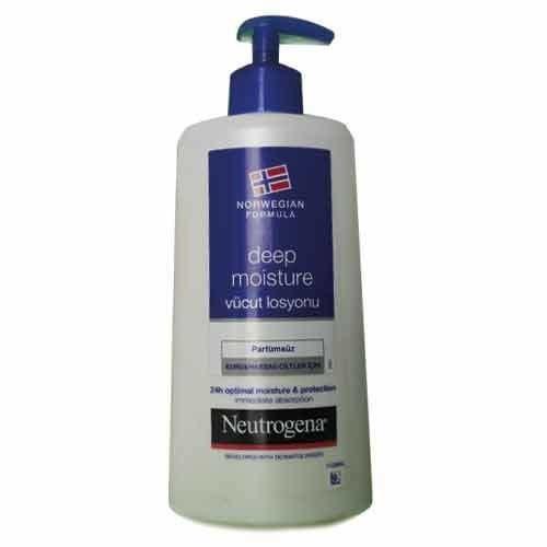 Lotiune de corp hidratanta pentru piele sensibila Neutrogena