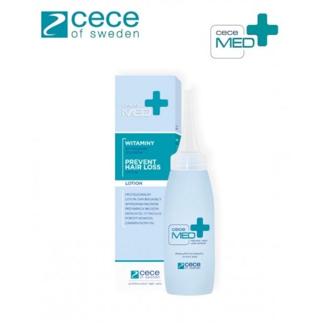 Lotiune medicala concentrata pentru prevenirea caderii parului, Cece Med ,75 ml