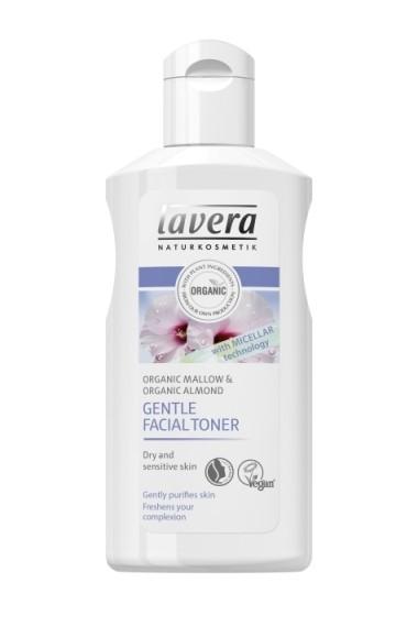 Lotiune tonica delicata cu tehnologie micelara, pentru ten normal si uscat, Lavera, 125 ml
