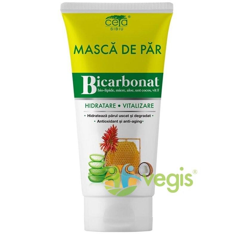 Masca de Par  cu Bicarbonat pentru Hidratare si Vitalizare150ml