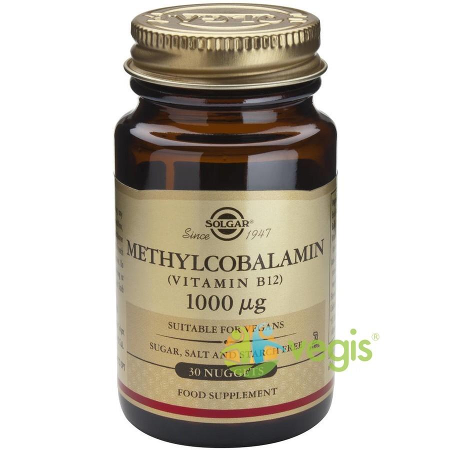 Methylcobalamin (Vitamina B12) 1000mcg 30tb (Metilcobalamina) Sublinguale