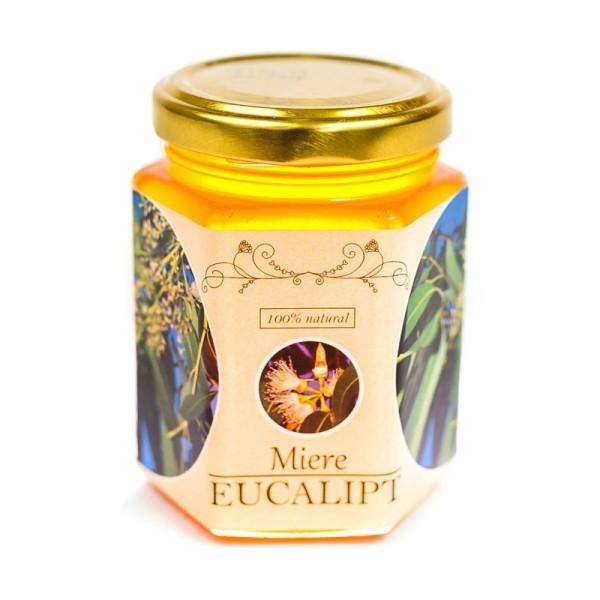 Miere de Eucalipt, 250 g Prisaca Transilvania